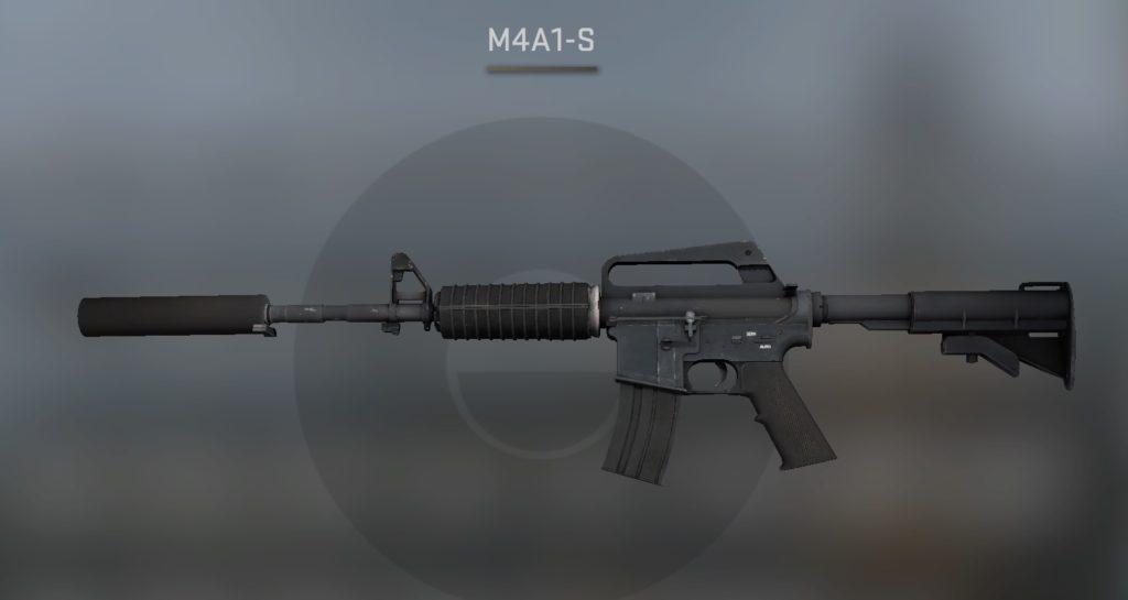 m4a1-s инвентарь