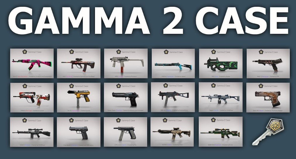 gamma кейсы кс го