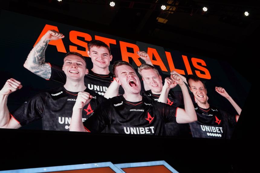 Astralis winners ecs 8