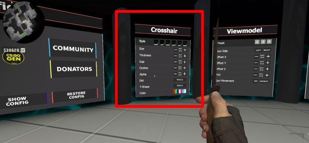 доска Crosshair